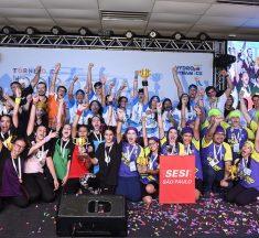 Conheça as equipes campeãs do Torneio Nacional de Robótica 2018