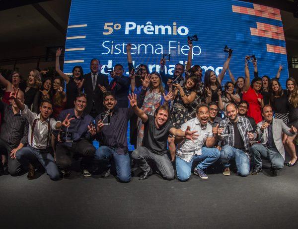 Conheça os ganhadores do 5º Prêmio Sistema Fiep de Jornalismo